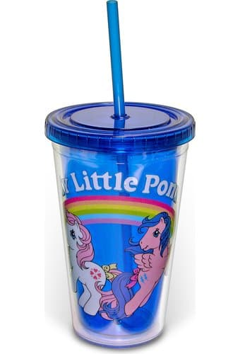 My Little Pony - 16 oz. Plastic Cold Cup with Lid