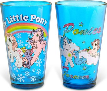 My Little Pony - Blue 16 oz. Colored Pub Glass