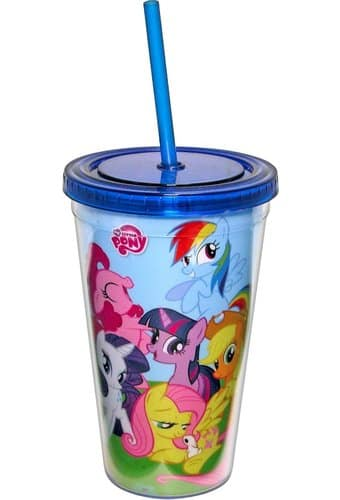 Friendship is Magic 16 oz. Plastic Cold Cup w/Lid