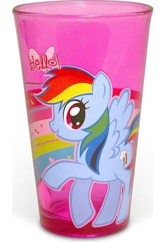 My Little Pony - Boxed 16 oz. Pink Pub Glass