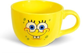 Sponge Bob - 24 oz. Ceramic Soup Mug