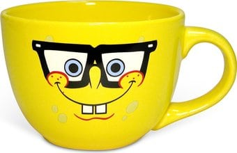 Sponge Bob - Glasses: 24 oz. Glasses Ceramic Soup