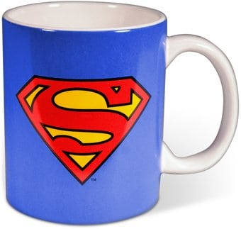 DC Comics - Superman - Logo - 12 oz. Ceramic Mug