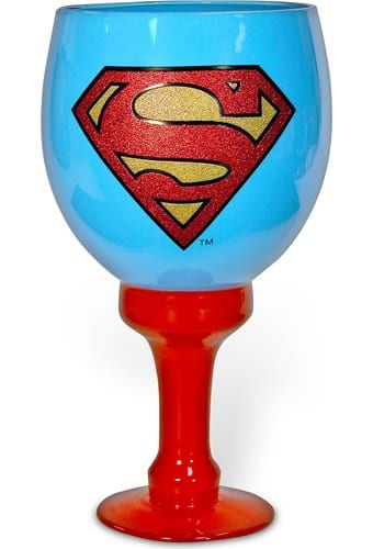 DC Comics - Superman - Logo - 40 oz. Glass Goblet