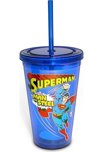 Superman: Man of Steel - 16 oz. Plastic Cold Cup