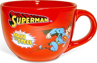 DC Comics - Superman: Man of Steel - Red 24 oz.