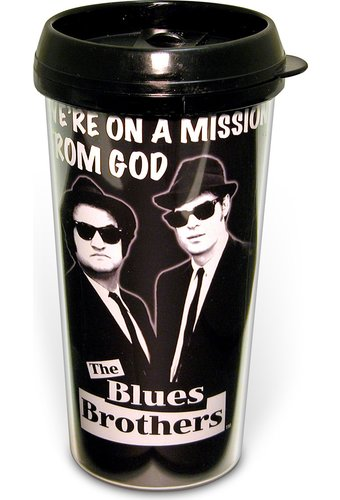 Blues Brothers - Mission: 16 oz. Plastic Travel