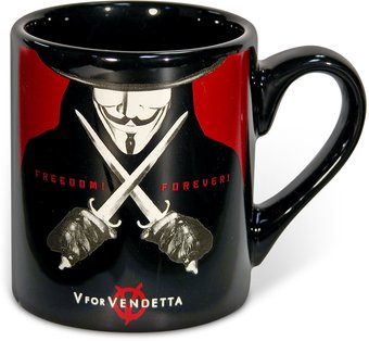 V for Vendetta - 14 oz Ceramic Mug