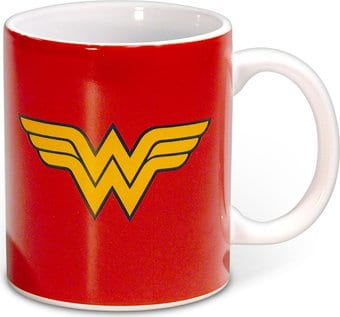 DC Comics - Wonder Woman - Logo - 12 oz. Ceramic