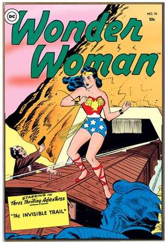 DC Comics - Wonder Woman - Invisible Trail 13 x