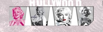 Marilyn Monroe - 4 Piece Shot Glass Set Clear
