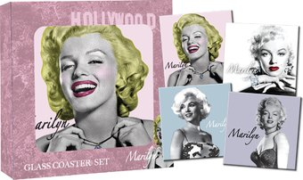 Marilyn Monroe - Portraits: 4 Piece Glass Coasters