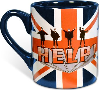 Help: British Flag 14 oz. Ceramic Mug