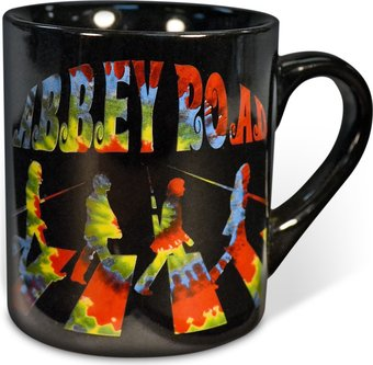 The Beatles - Abbey Road: Tie Dye 14 oz. Ceramic