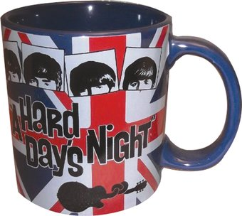A Hard Day's Night British Flag: 20 oz. Jumbo