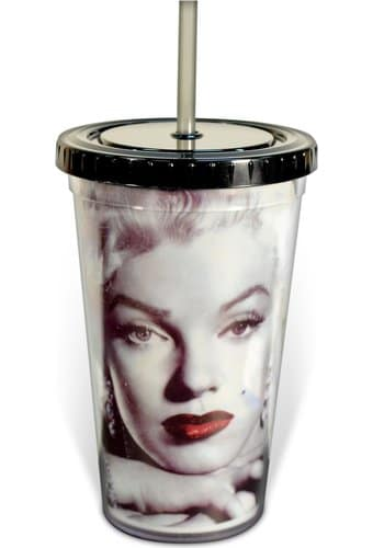 Marilyn Monroe - Close Up: 16 oz. Plastic Cold