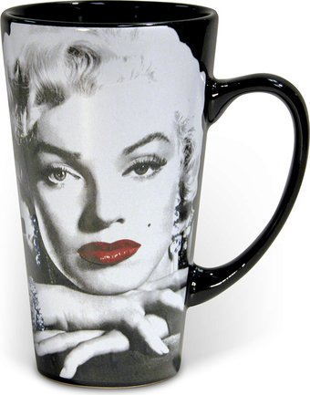 Marilyn Monroe - Lips: Tall Latte 16 oz. Ceramic