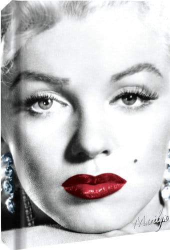 Marilyn Monroe - Close Up: Hard Cover Journal 6""
