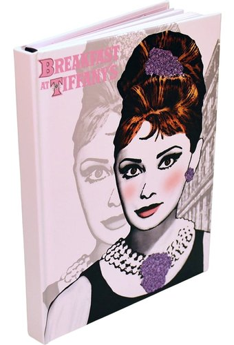 "Audrey Hepburn - Hard Cover Journal 6"" x 8"""