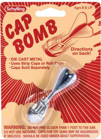 Retro Toys - Die Cast Metal Cap Bomb Toy