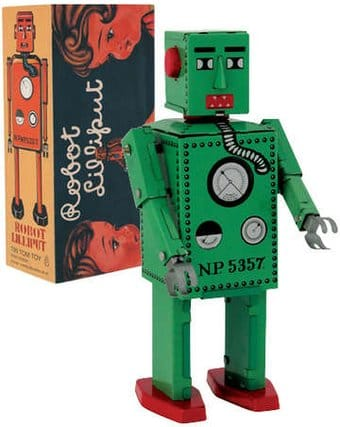 Lilliput Robot (Small) Tin Toy