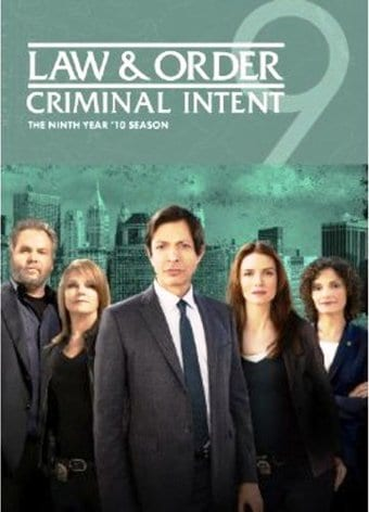 Law & Order: Criminal Intent - Year 9 (4-DVD)