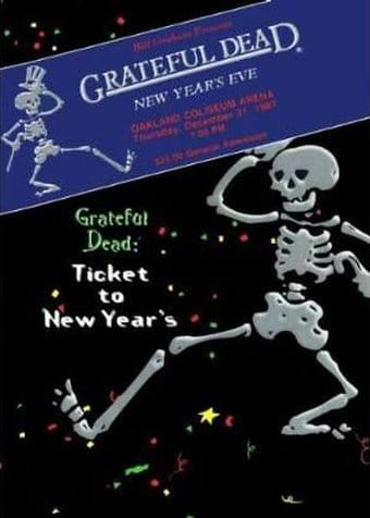 Grateful Dead - Ticket to New Year's