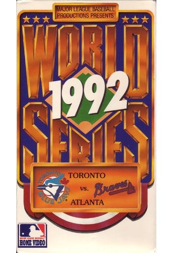 Baseball - 1992 World Series: Toronto Blue Jays