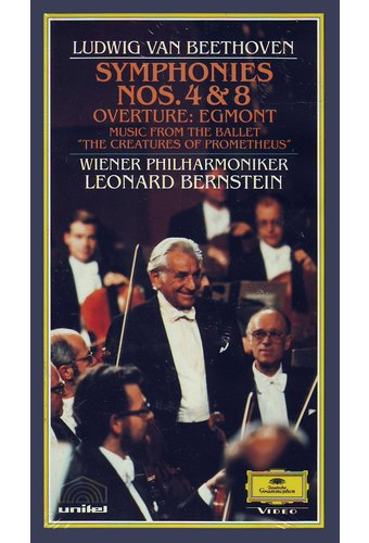 Beethoven: Symphonies Nos. 4 & 8 & other