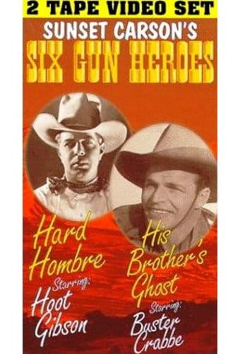Hard Hombre / His Brother's Ghost (2-VHS)