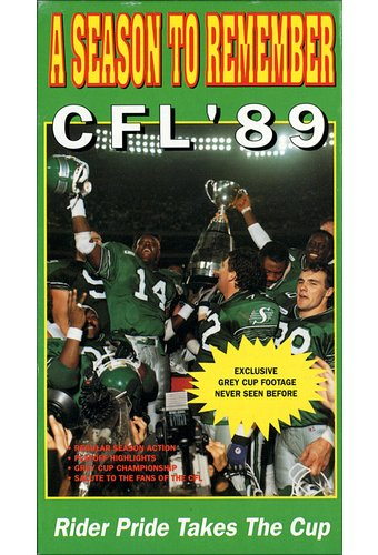 Football - Canadian Football League 1989: A