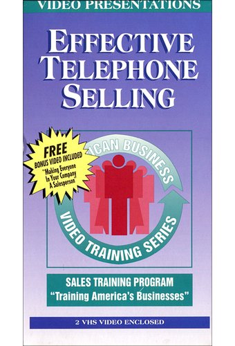 Effective Telephone Selling (2-VHS)