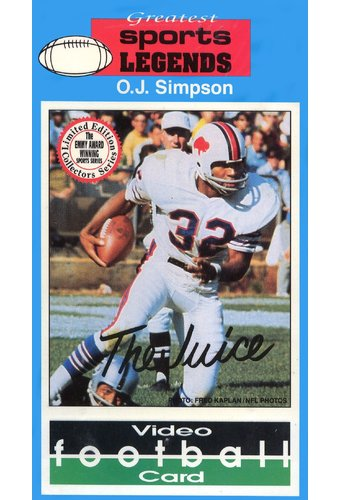O.J. Simpson - Video Football Card