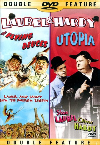 Laurel & Hardy - The Flying Deuces / Utopia