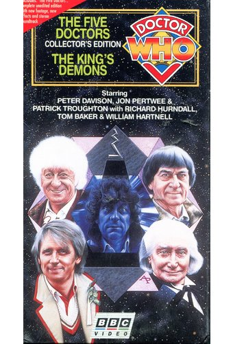 The Five Doctors / The Kings Demons (3-Tape Set)