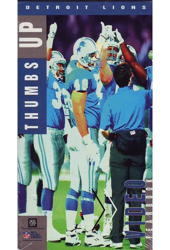 Football - Detroit Lions: 1991 Video Yearbook