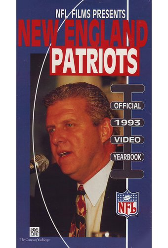 New England Patriots: Official 1993 Video Yearbook