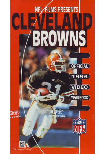 Cleveland Browns: Official 1993 Video Yearbook
