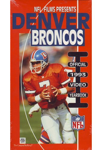 Football - Denver Broncos: Official 1993 Video