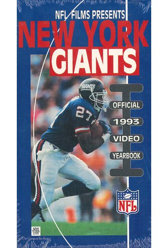 New York Giants: Official 1993 Video Yearbook