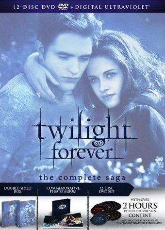 Twilight Forever: The Complete Saga (12-DVD)