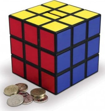 Rubik's Cube - Money Bank