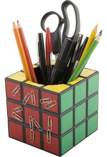 Rubik's Cube - Desk Tidy