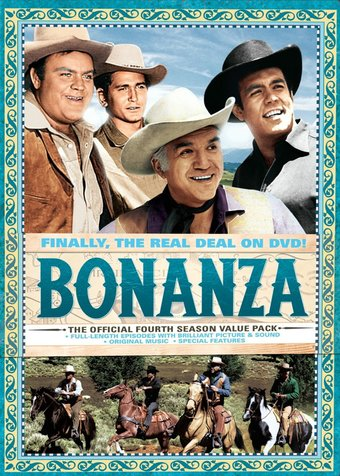 Bonanza - Official 4th Season (9-DVD)