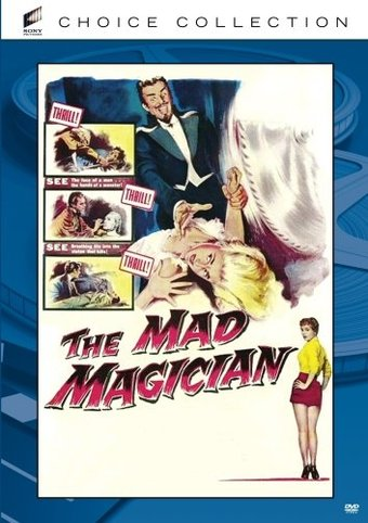 The Mad Magician (Widescreen)