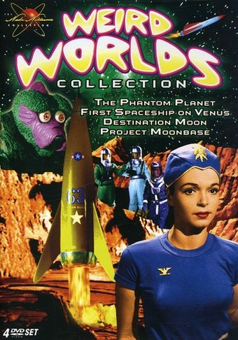 Weird Worlds Collection (4-DVD)