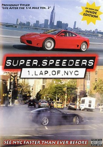 Cars - Super Speeders 1: Lap of NYC
