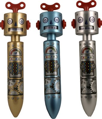 Clickity-Clack Robot Pen (Single)