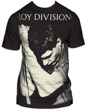 Joy Division: Ian Curtis Big Print (Subway Tee)
