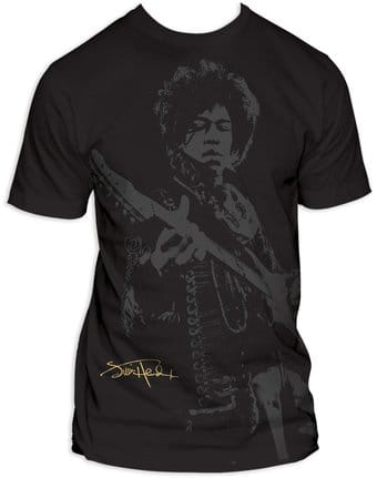 Jimi Hendrix - Shadow Jimi Big Print (Subway Tee)